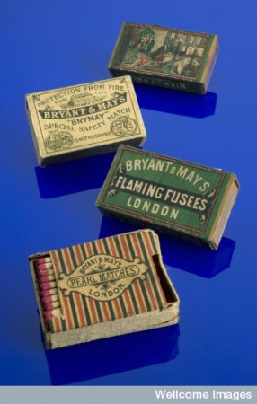 L0058858 Bryant & May 'Pearl' safety matches, London, England, 1890-1