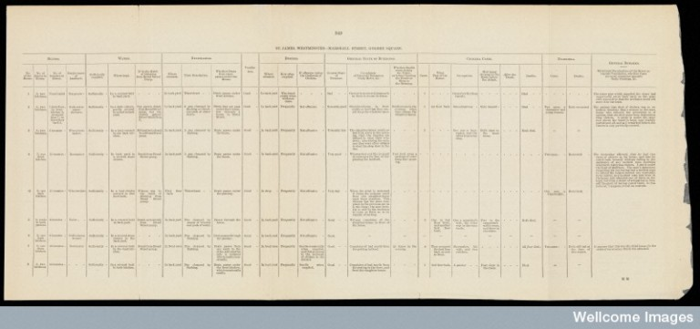 L0072150 Report on the cholera outbreak in the Parish of St. James...