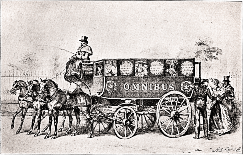 Shillibeer's_first_omnibus